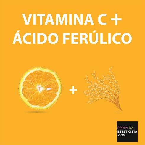 VITAMINA C +ÁCIDO FERULICO